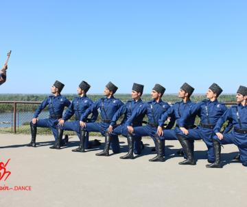 گروه رقص آذربایجانی سوین