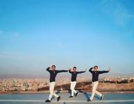 رقص آذربایجانی در تبریز