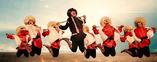 رقص آذربایجانی و ورزش