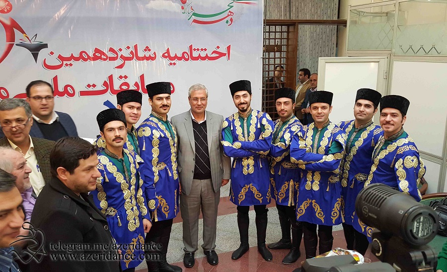 گروه رقص آذربایجانی آیلان