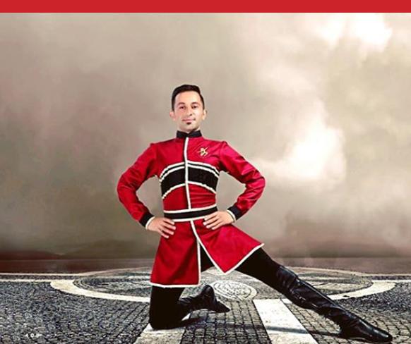 لباس مردانه رقص آذربایجانی